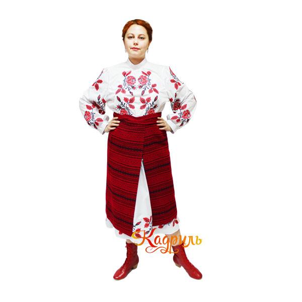 Украинский костюм с вышивкой. Рис. 3