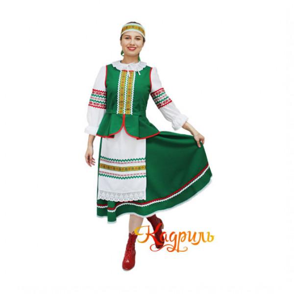 Костюм белорусский женский. Рис. 1