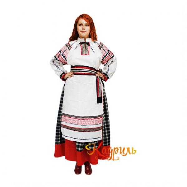 Костюм белгородский женский. Рис. 1