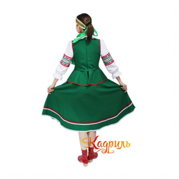 Костюм белорусский женский. Рис. 2