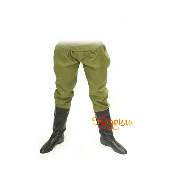 Галифе военное мужское. Рис. 1
