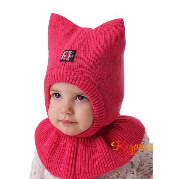 Детская шапка-шлем с ушами. Рис. 1