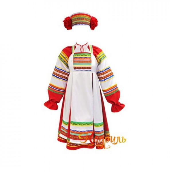 Костюм стилизованный детский. Рис. 1