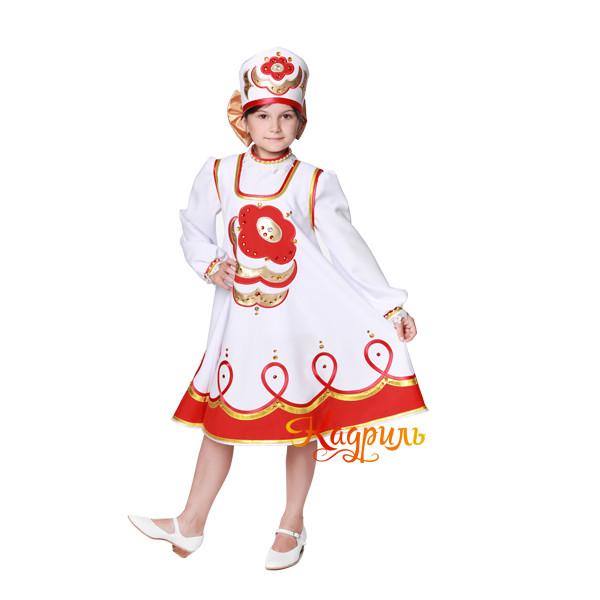 Народный сарафан детский. Рис. 1