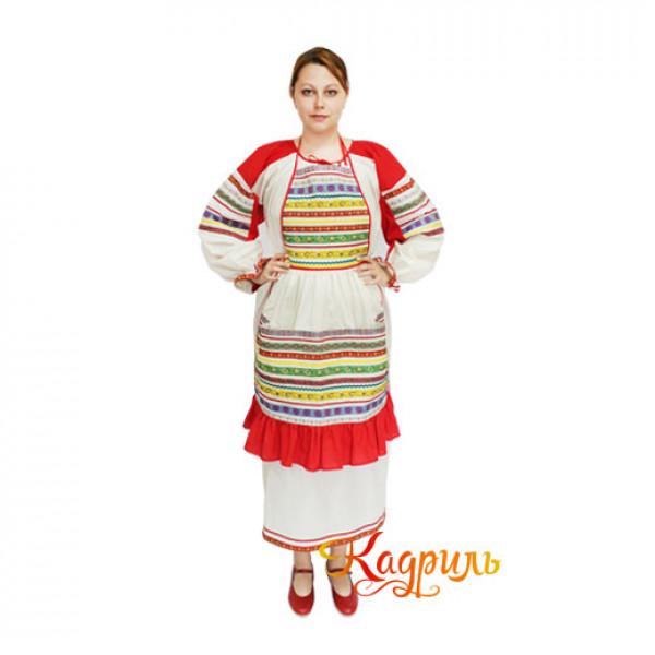 Русский народный костюм. Рис. 2