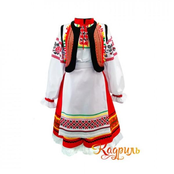 Костюм женский молдавский. Рис. 1