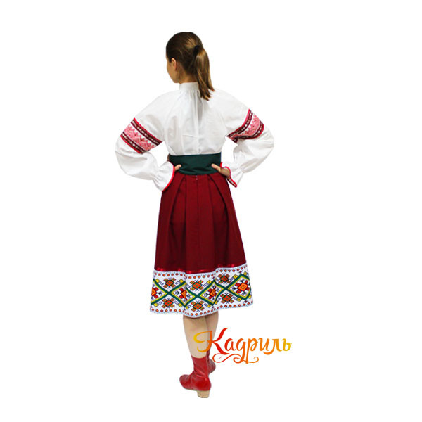 Молдавский костюм. Рис. 2