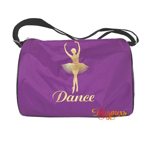 Сумка спортивная с балериной