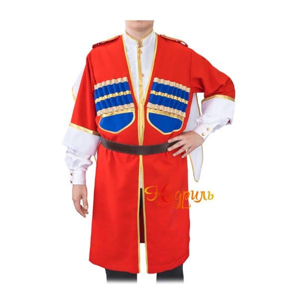 Казачий костюм с черкесской. Рис. 1
