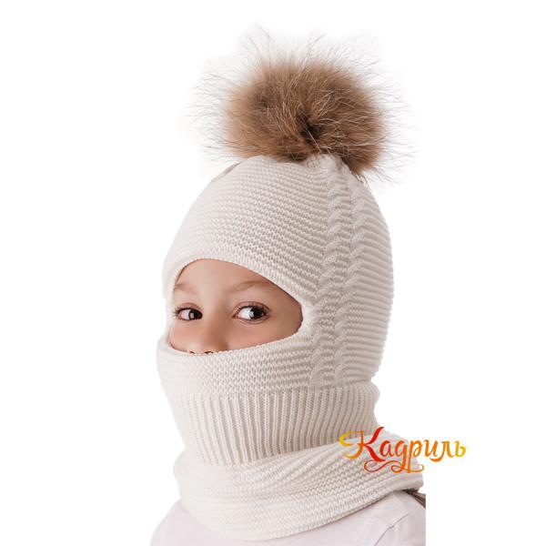 Детская шапка-шлем зимняя. Рис. 2