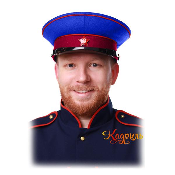 Фуражка НКВД. Рис. 2