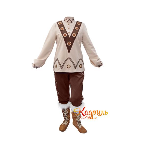 Якутский национальный костюм. Рис. 2