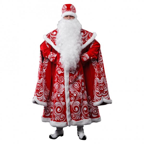 Костюм Деда Мороза лидер продаж. Рис. 1