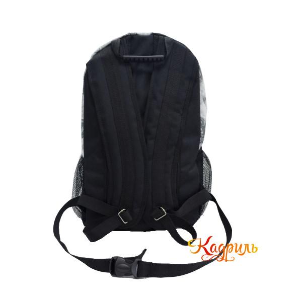 Спортивный рюкзак серый. Рис. 2