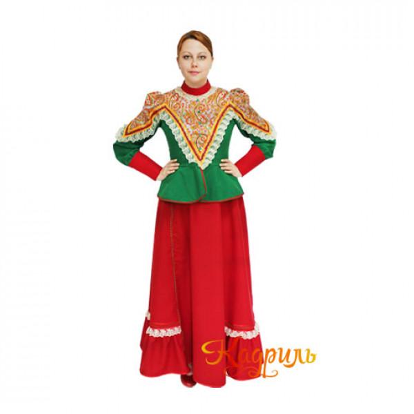 Казачий народный костюм. Рис. 1
