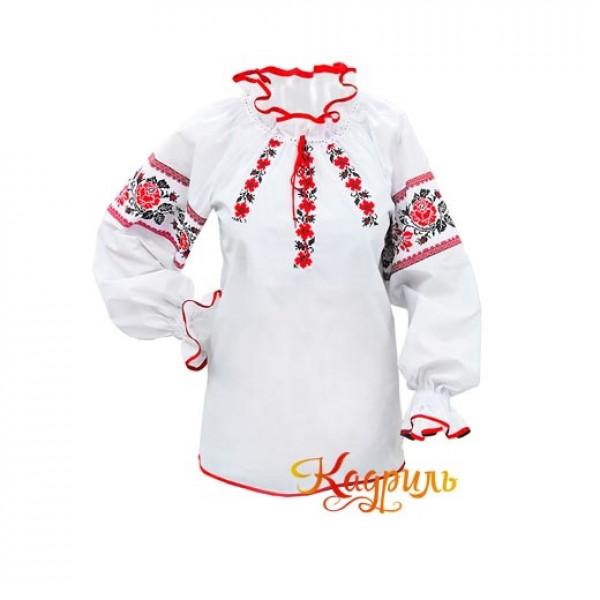 Рубашка украинская женская. Рис. 1