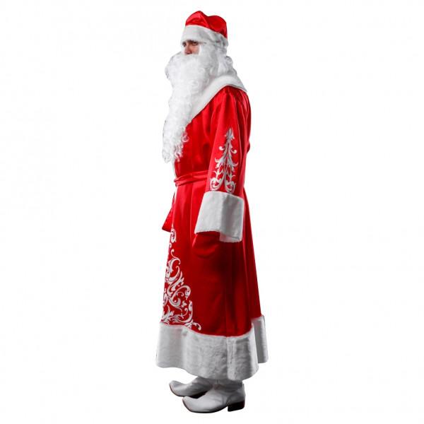 Костюм Деда Мороза красный. Рис. 2