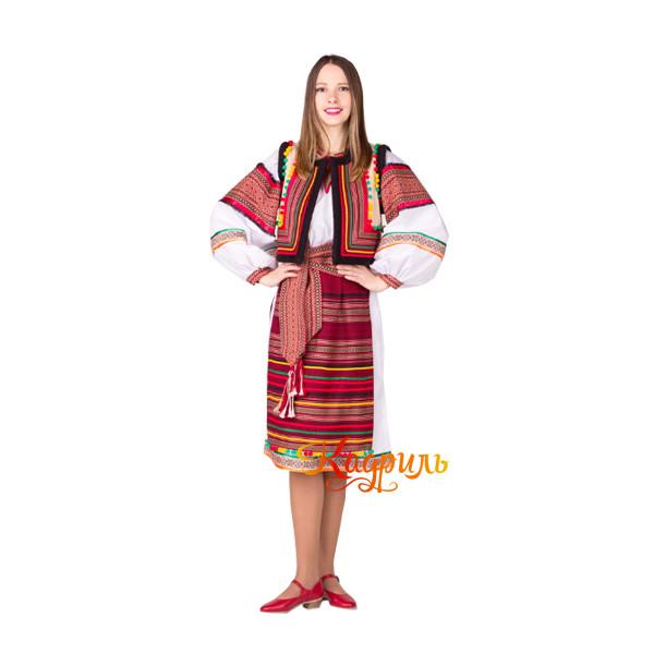 Костюм гуцульский женский