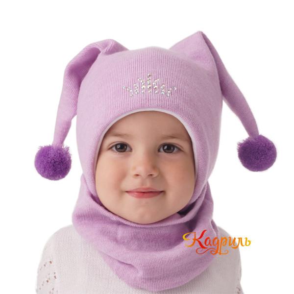 Детская зимняя шапка с ушками. Рис. 2
