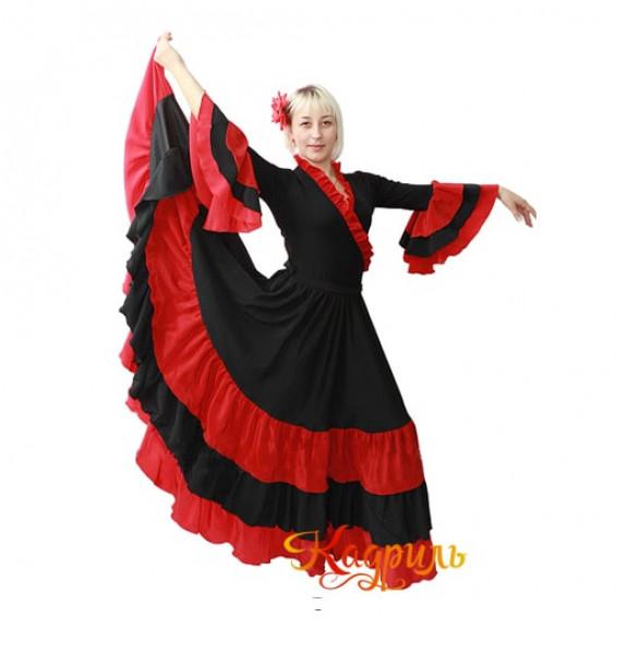 Испанское платье. Рис. 1