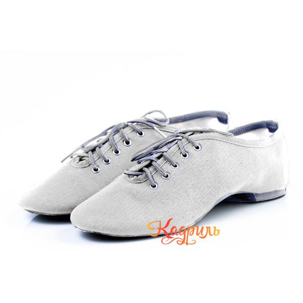 Танцевальная обувь тканевые белые. Рис. 1
