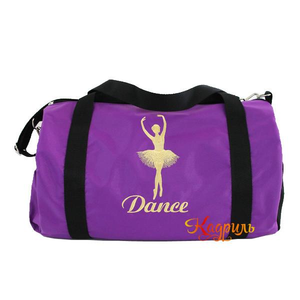 Сумка для танцев с балериной. Рис. 4