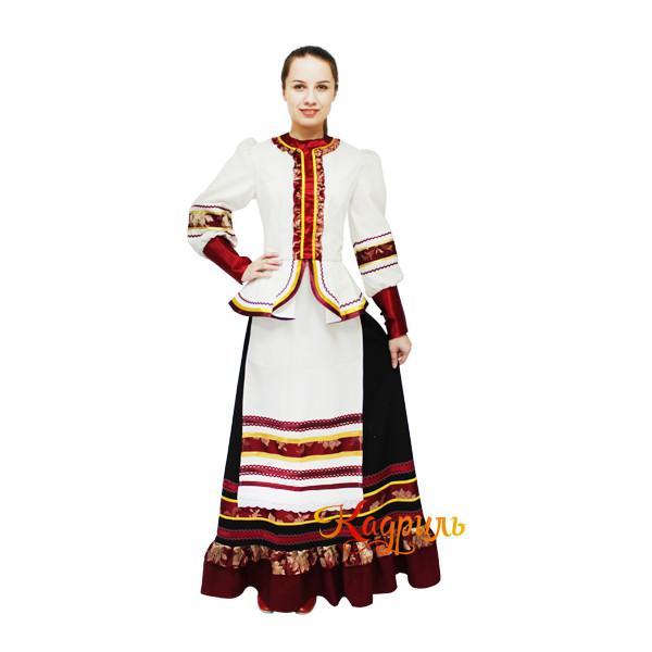 Казачий костюм стилизованный. Рис. 1