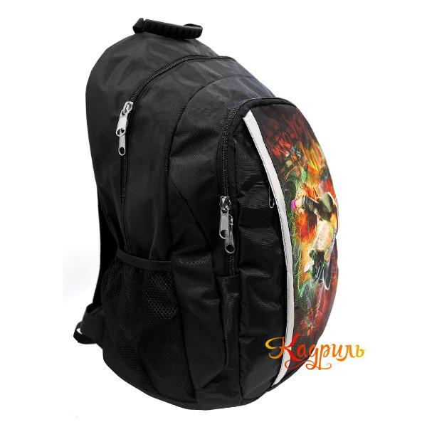 Спортивный рюкзак с рисунком. Рис. 2