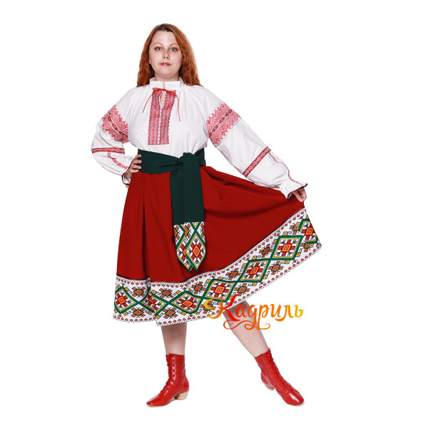 Молдавский костюм. Рис. 4