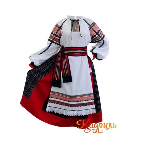 Костюм белгородский женский. Рис. 3