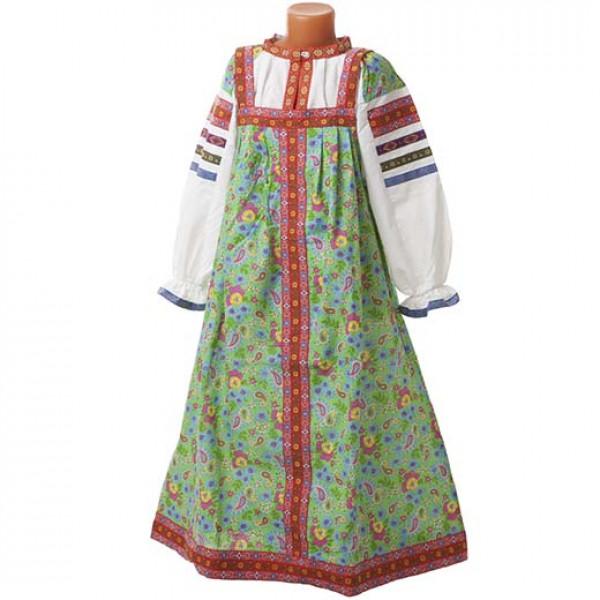 Фольклорный костюм. Рис. 3