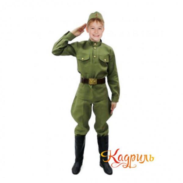 Детский военный костюм. Рис. 1
