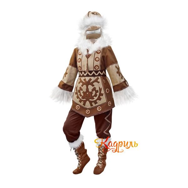 Якутский национальный костюм. Рис. 1