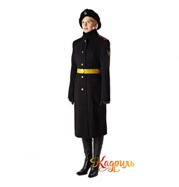 Парадная форма военнослужащих женщин. Рис. 3