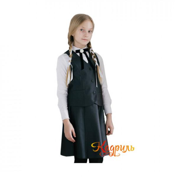 Школьная форма для 12 лет девочек. Рис. 1