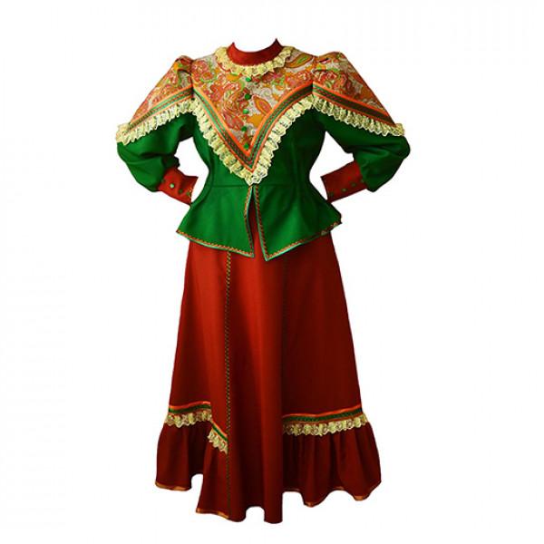 Казачий народный костюм. Рис. 2