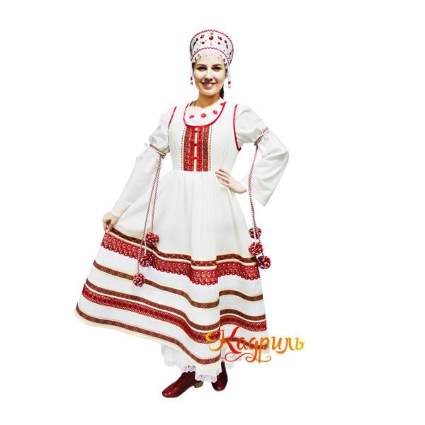 Костюм русский стилизованный. Рис. 1