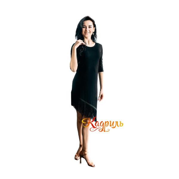 Платье бальное с бахромой. Рис. 1