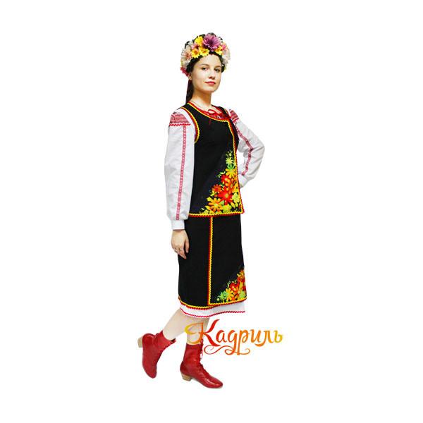 Украинский национальный костюм. Рис. 1