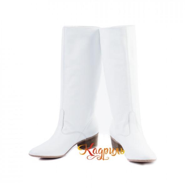 Сапоги танцевальные женские белые. Рис. 3