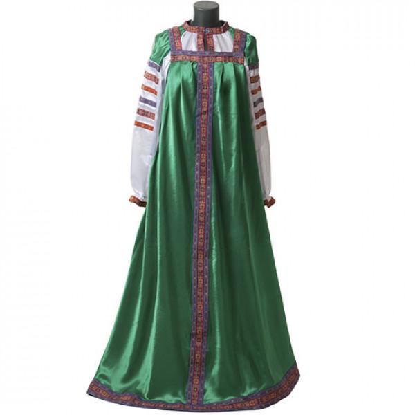 Русский народный сарафан. Рис. 4