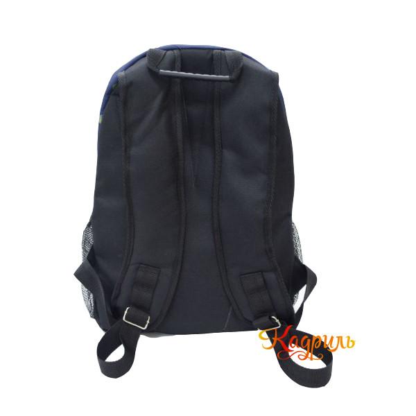 Лёгкий синий рюкзак с рисунком. Рис. 2