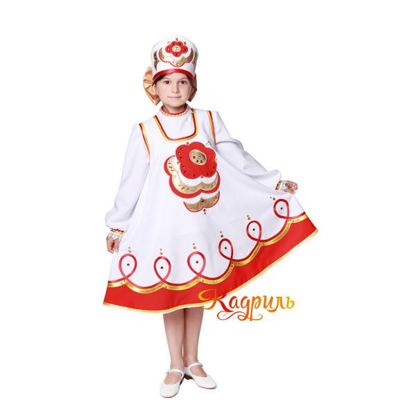 Народный сарафан детский. Рис. 2