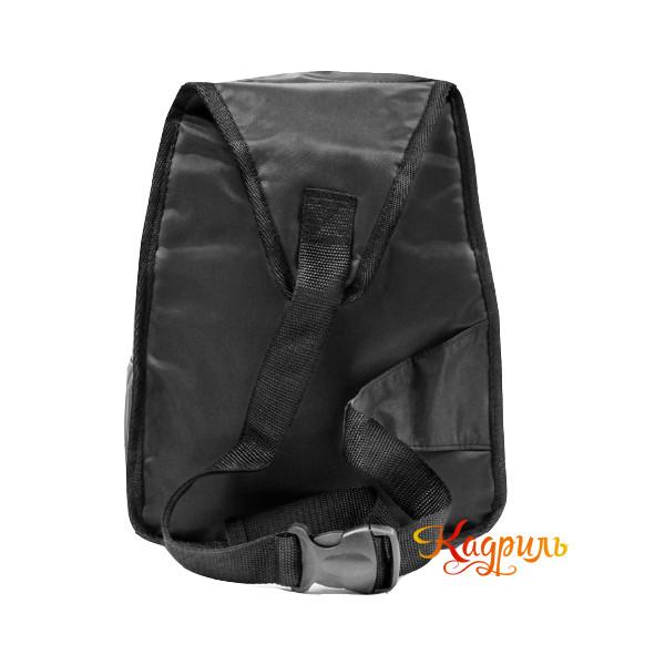 Черный однотонный рюкзак. Рис. 2