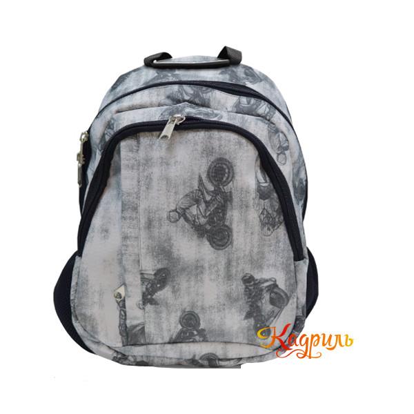 Рюкзак текстильный для мальчиков. Рис. 1