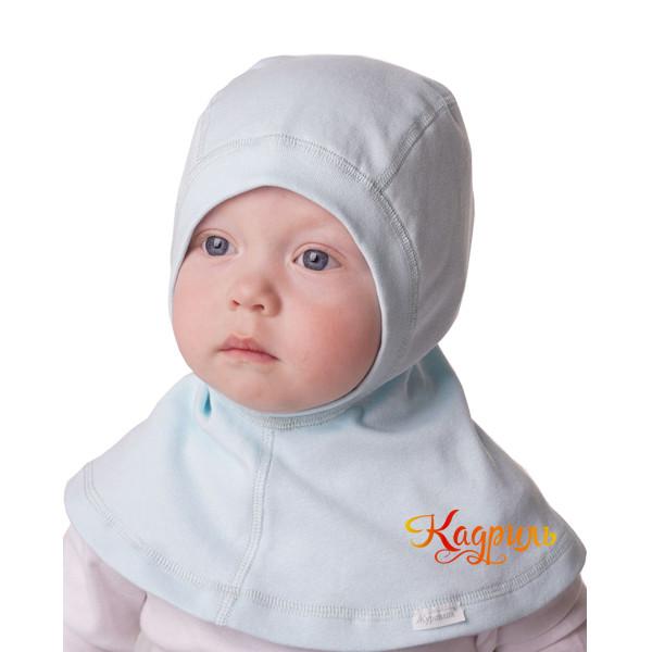 Детская шапка-шлем с манишкой. Рис. 2