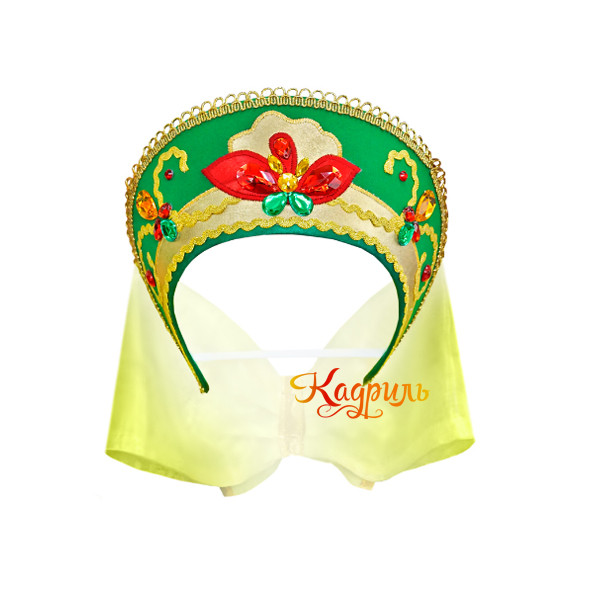 Русское народное платье для танца. Рис. 2