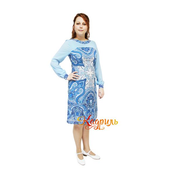 Платье эстрадное из платка. Рис. 2