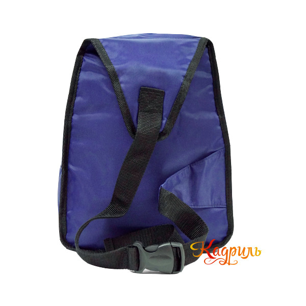 Синий однотонный рюкзак. Рис. 2