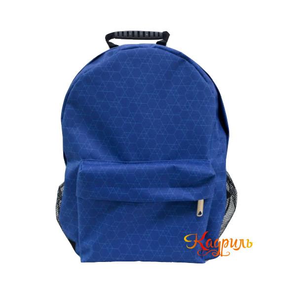Лёгкий синий рюкзак. Рис. 1